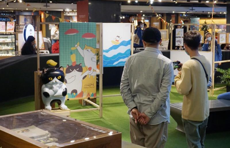 金典綠園道 x 阿喵菜市場商場展覽 (11)