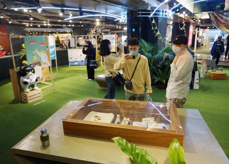 金典綠園道 x 阿喵菜市場商場展覽 (12)
