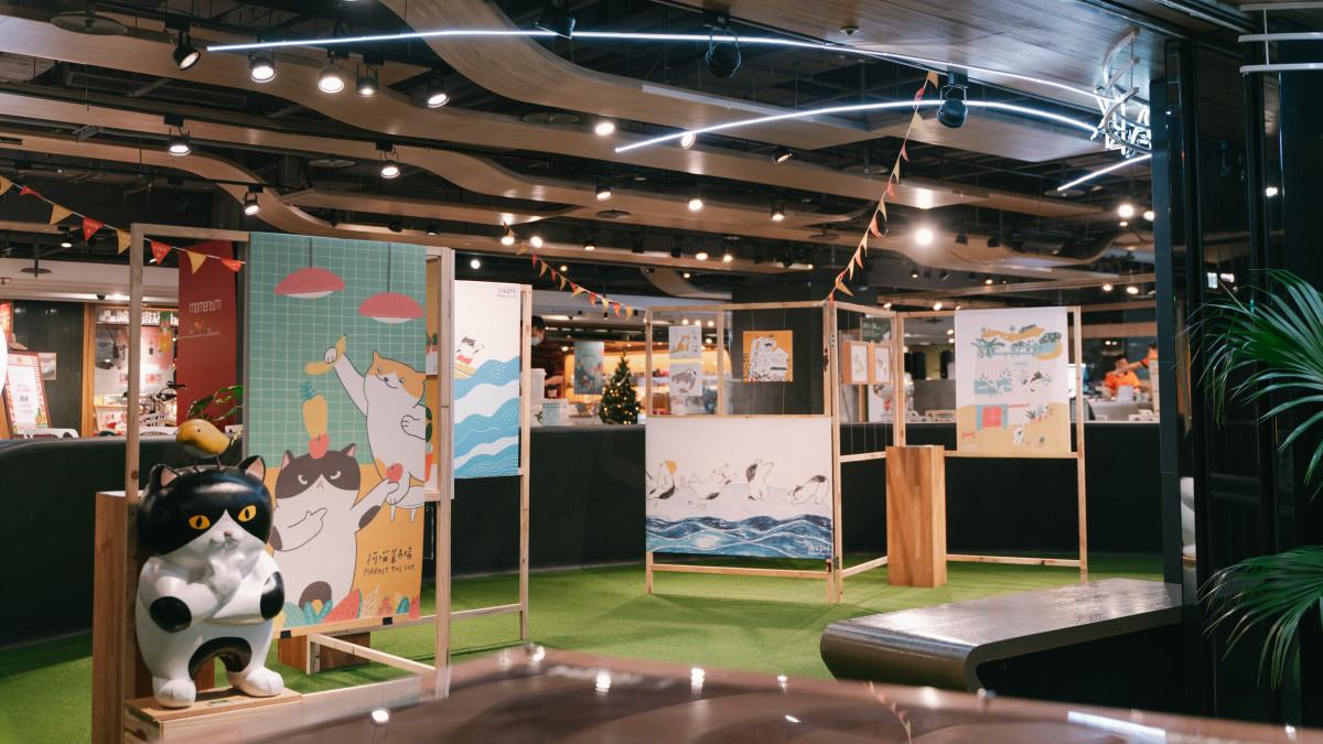 金典綠園道 x 阿喵菜市場商場展覽 (3)
