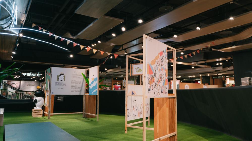 金典綠園道 x 阿喵菜市場商場展覽 (5)