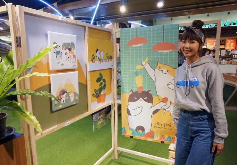 金典綠園道 x 阿喵菜市場商場展覽 (9)